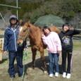 08年度牧場乗馬体験修了旅行