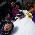 雪山耐寒親子ハイク 雪の砦